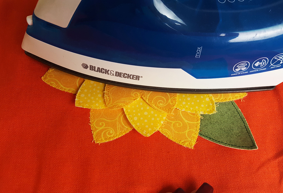 Ironing-sunflower