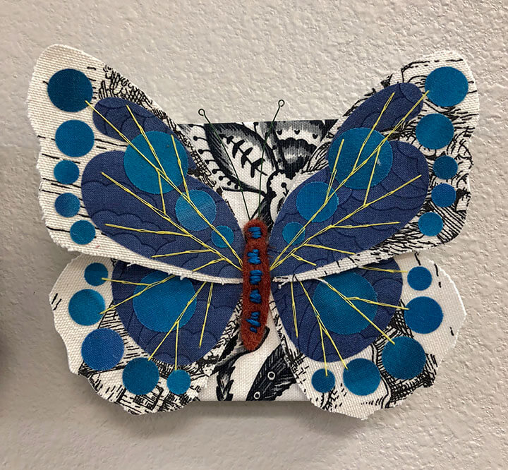 My blue butterfly