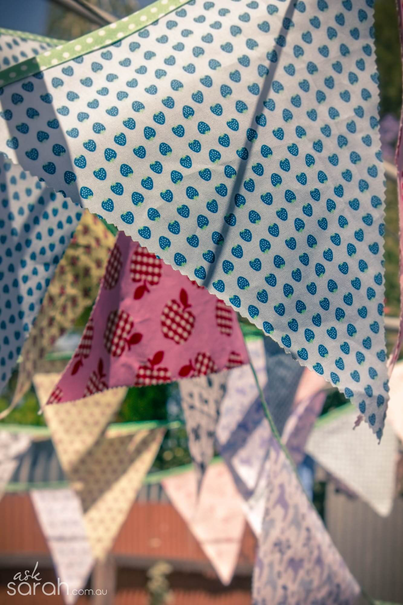 bunting from ask sarah